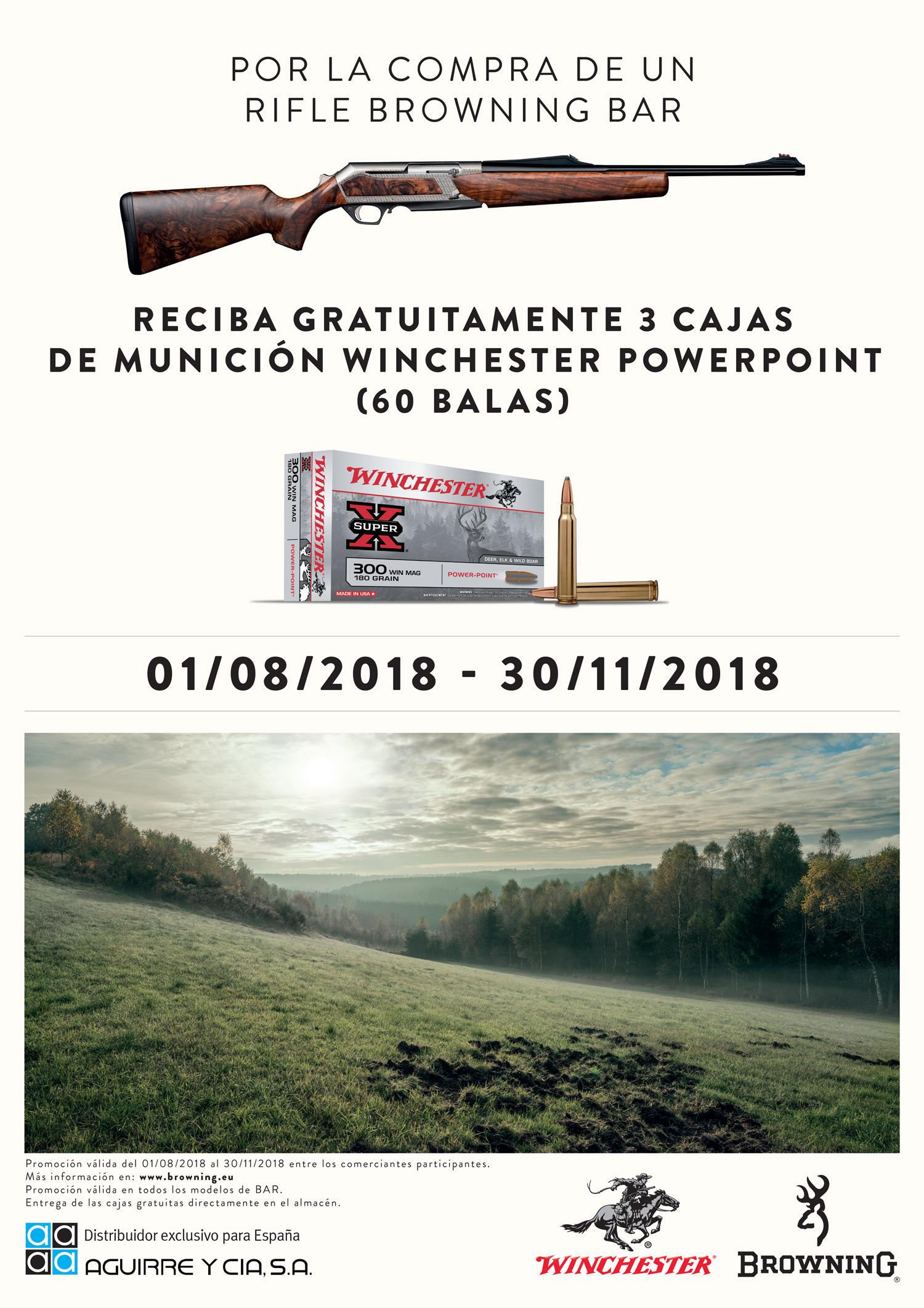 RIFLE BAR & MUNICIÓN WINCHESTER POWERPOINT
