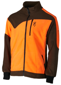 POLAR, POWERFLEECE ONE ZIPPIN, VERDE NARANJA