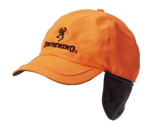 GORRAS + PROTECTOR AUDITIVO, WINTER FLEECE, NARANJA
